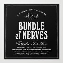 Bundle of Nerves Canvas Print