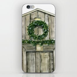 Winter Barn iPhone Skin