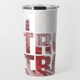 Detroit Landscape Travel Mug