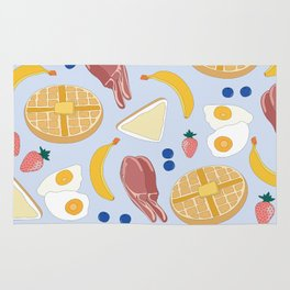 Breakfast Food Rug