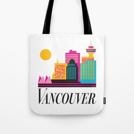 Vancouver Coal Harbour Tote Bag