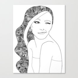 Woman 1 Canvas Print