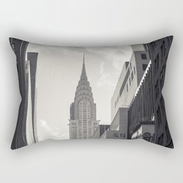 The Chrystler Building Rectangular Pillow