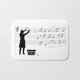 making more music Bath Mat