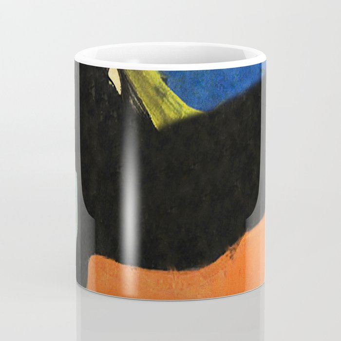 Black Dog and Green Ball Coffee Mug