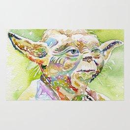 Yoda The Jedi Master Rug