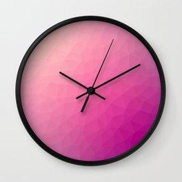 Purple flakes. Copos morados. Flocons pourpres. Lila flocken. Фиолетовые хлопья. Wall Clock
