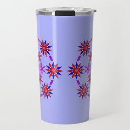 Shuriken Lotus Flower v3 Travel Mug