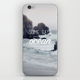 Tonight Alive Poster iPhone Skin