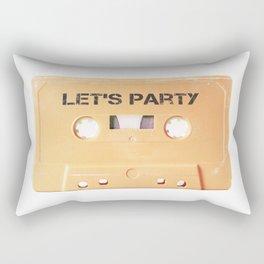 Cassette tape salmon rock n roll Rectangular Pillow