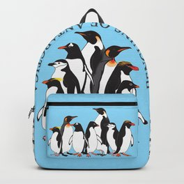 Penguins of Antarctica (vertical) Backpack