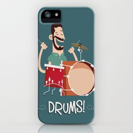 Drums! iPhone Case