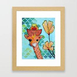 Hello Little Bird Framed Art Print