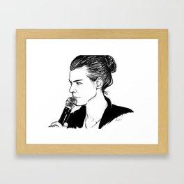 Hazrolled Framed Art Print