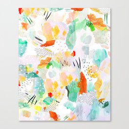 toto: abstract painting Canvas Print