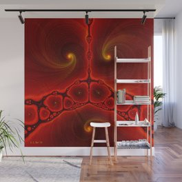 Arrival Wall Mural