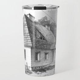 Traditional Polish Mansion Travel Mug