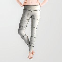 Light Natural Wood Texture Leggings