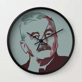 William Faulkner Wall Clock