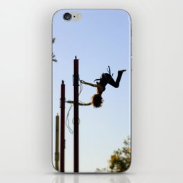 Bungee Jump iPhone Skin