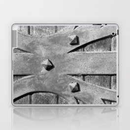 Hinges On The Cathedral Door Laptop & iPad Skin