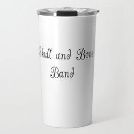 Skull & Bone Band Travel Mug