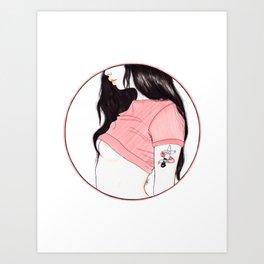 Good girl Art Print