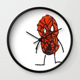 Superhero 3 Wall Clock
