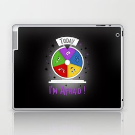 I am Afraid Laptop & iPad Skin