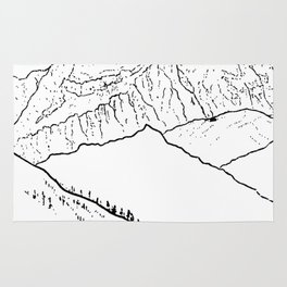 Mountain Minimal Bliss Rug