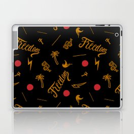 Freedom and Flickering Sunshine Thought Laptop & iPad Skin