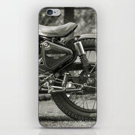 The Vintage Royal Enfield Bullet 350 Motorcycle iPhone Skin