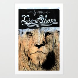 Bywater - Lionshare Art Print