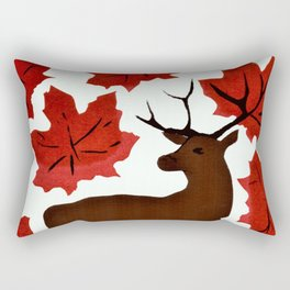 Connections in Nature Rectangular Pillow