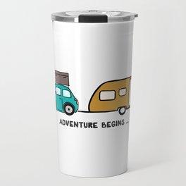 Adventure begins Travel Mug