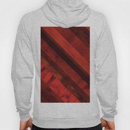 Maroon diagonal stripes Hoody