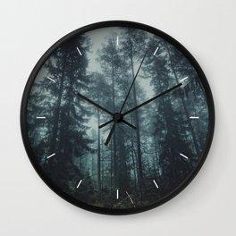 Flirting with temptation Wall Clock