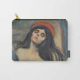 Madonna by Edvard Munch Carry-All Pouch