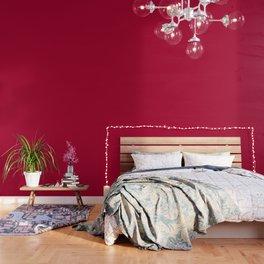 Alabama Crimson - Solid Red Color Wallpaper