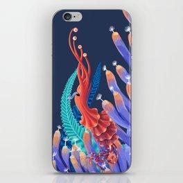 Dancing monster iPhone Skin