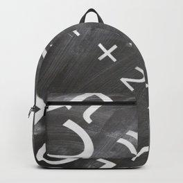 Chalkboard Mathematics Board Backpack