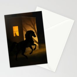 Shadows in the Suburb Stationery Cards