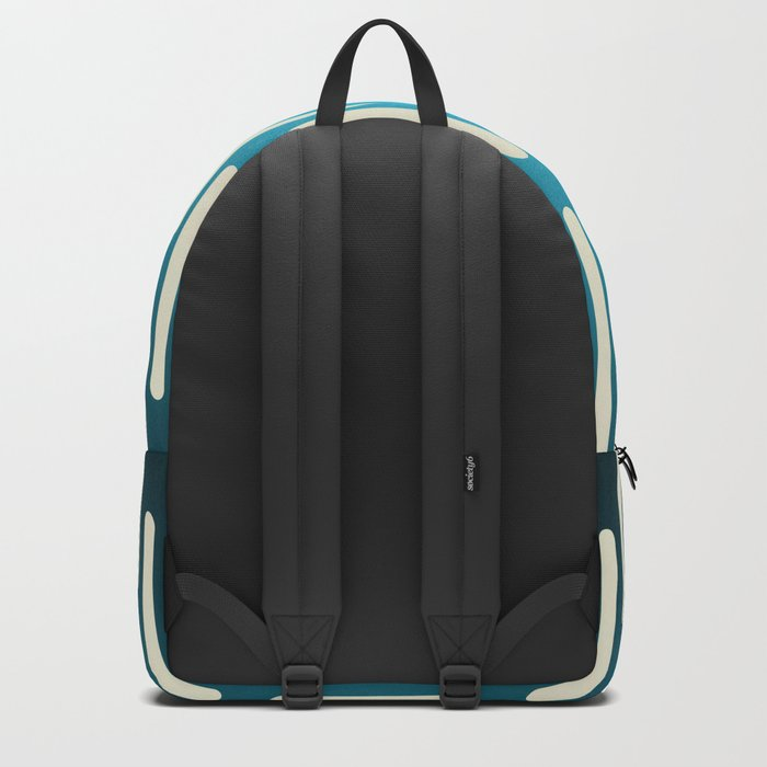 seamless pattern with gradient background Backpack