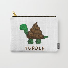 Turdle - Poop - Turtle - 57 Montgomery Art Carry-All Pouch