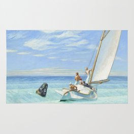 Edward Hopper Ground Swell 1939 Painting Rug