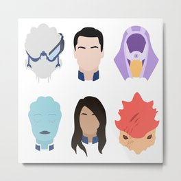 Choose Your Party No. 1 Metal Print