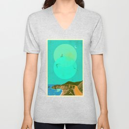 CALIFORNIA COAST II Unisex V-Neck