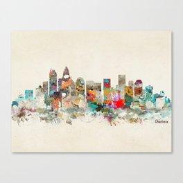 charlotte city north carolina Canvas Print