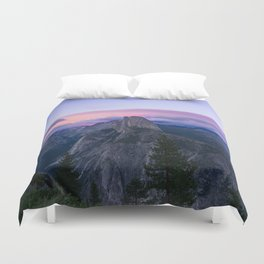 Yosemite National Park at Sunset Duvet Cover