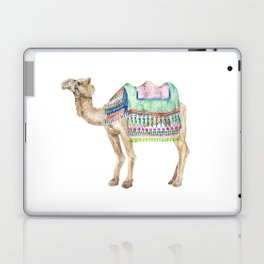 Boho Camel Tassel India Morocco Camel Watercolor Laptop & iPad Skin
